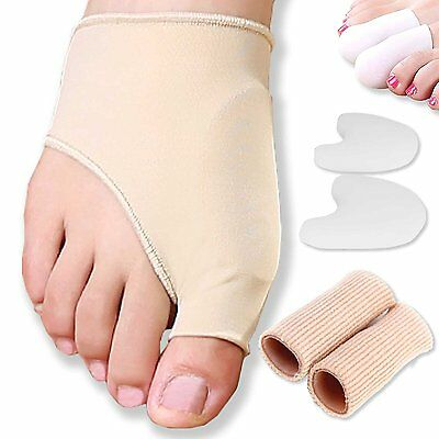 Bunion Dr Jk Gel Pad Sleeves Protector Kit 8 Pcs Corrector Bunion Relief