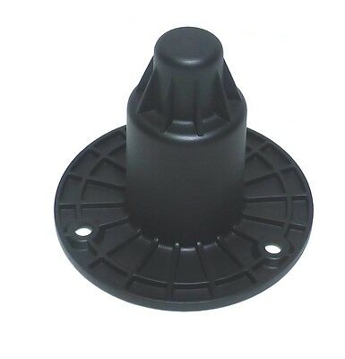 """Penn Fab M1557 / M20 Threaded Pole Mount for 1 3/8"""" Poles (Stand Cup or Top Hat)"""