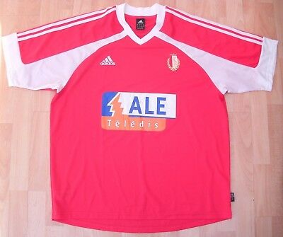 STANDARD LIEGE 2002 HOME adidas FOOTBALL SOCCER SHIRT JERSEY TOP XL ADULT