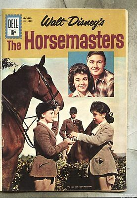 Four Color Comics #1260-1962 fn/vg  The Horsemasters Annette Funicello