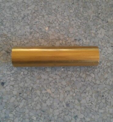 "C360 brass 1"" round rod stock 1 pc 4"" long lathe machinist tool new solid bar"