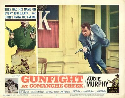 Gunfight at Comanche Creek 11x14 Lobby Card #2
