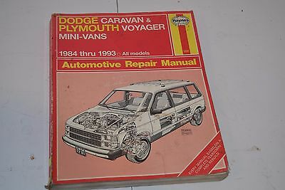 93 1993 plymouth voyager owners manual 575 picclick haynes dodge caravan plymouth voyager mini vans 1984 1993 repair manual fandeluxe Image collections