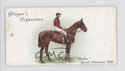 1933 Player's Derby and Grand National Winners Tobacco Base #27 Rubio Card