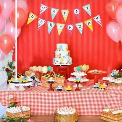 Paper Banners Bunting Triangle Flag Happy Birthday.Party Baby Shower Decorations