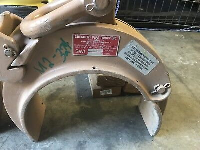 Crescent Pipe Tongs Clamp 1500lbs 10.125