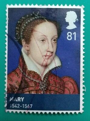 118.great Britain Used Stamp Queen Mary ( 1542-1567)