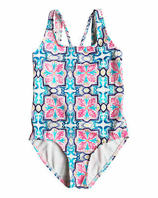 NEW ROXY™  Girls 8-14 Molokai Floral One Piece Swimsuit Teens Swimwear