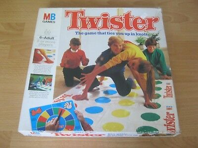 Vintage Twister Game - Made In 1978 - Complete