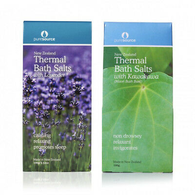2 x Puresource New Zealand Thermal Bath Salts (Choose any 2)