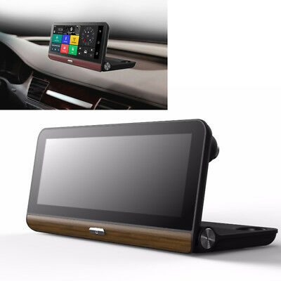 7.84'' IPS Touch Screen 4G Car DVR GPS Navigation Wifi 1080P Bluetooth G-sensor