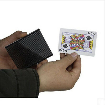 Creative Ultimate Card Vanish Illusion Change Sleeve Close-Up Street Magic Trick