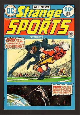 Strange Sports Stories 3 9.2 Nm 1974 Dc White Paper High Grade