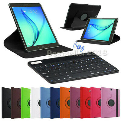 For Samsung Galaxy Tab A 8.0 SM-T380 T385 2017 Leather Case Covers WITH Keyboard
