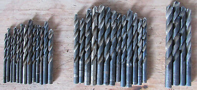 Lot of 30 Used Assorted Drill Bits