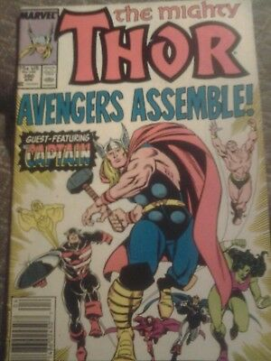 The Mighty Thor #390 (April 1988, Marvel Comics) 5.5/6.5