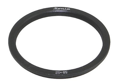 58mm to 52mm Step Down Ring Filter Stepping Adapter Sonia 58 52