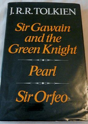 New 1st edition sir gawain and the green knight pearl sir jrr tolkien sir gawain pearl and sir orfeo 1975 1st1st fandeluxe Images