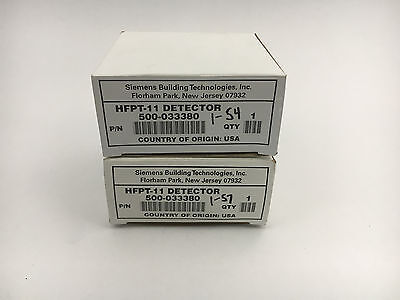 Siemens Hfpt-11 New In Box Heat Sensor Lot Of 2 See Pictures #b47