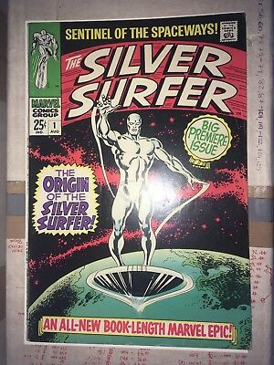 silver surfer 1, The classic origin of the Silver Surfer