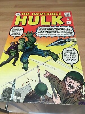 Incredible Hulk 3, Silver Age classic, pence variant