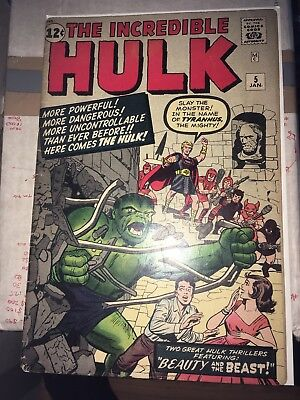 Incredible Hulk 5, Silver Age classic from 1962