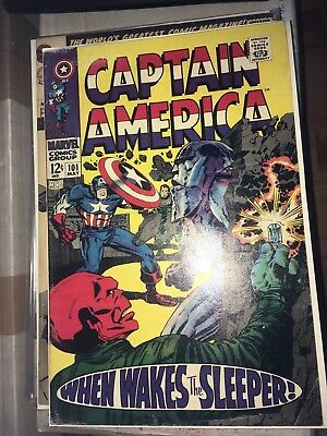 Captain America # 101 (Early Silver Age Solo Book,1968) See Scans