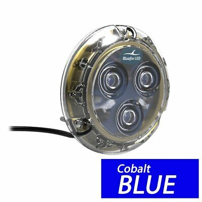 Bluefin LED Piranha P3 Surface Mount Underwater LED Light P3-SM-B101 Topaz Blue