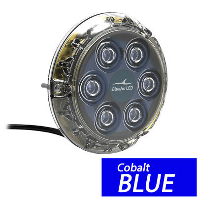 Bluefin LED Piranha P6 Nitro SM Underwater Light 24V - Cobalt Blue [P6N-SM-B117]