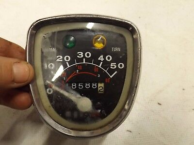 Honda C50 clocks