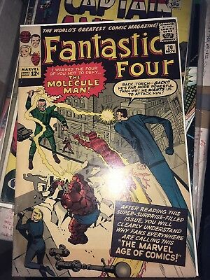 Fantastic Four 20, 1st Appearance of the Molecule Man Silver Age classic,1963