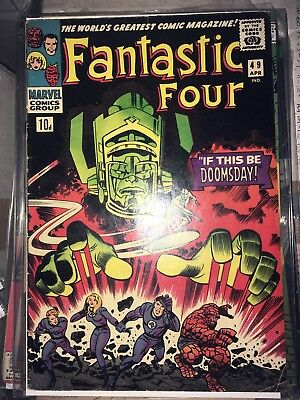 Fantastic Four 49, 1st full appearance of Galactus, Silver Age classic