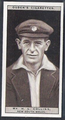 Ogdens-Cricket 1926-#07- New South Wales - Collins