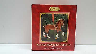 Breyer Horse Christmas Ornament Beautiful Breeds Series Clydesdale 2008