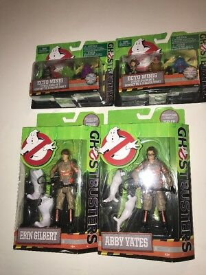 Lot Of New Ghostbusters Movie Action Figures (SEALED) 4 Total