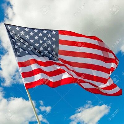 Us Usa America Stars & Stripes American National Supporters 5 X 3Ft Large Flag