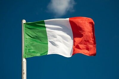 Italy Italian National Flag 5Ft X 3Ft World Cup 6 Nations Rugby, Football