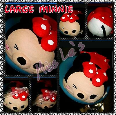 Disney Large Minnie Mouse Tsum Tsum. 100% UK Authentic Tsums