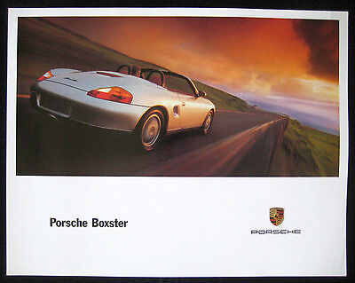 PORSCHE BOXSTER - NOS, Official factory issued promotional poster MINT CONDITION