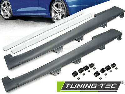 Coppia Set Minigonne Laterali Tuning VW SCIROCCO 2008 > 04.2014 R STYLE abs look