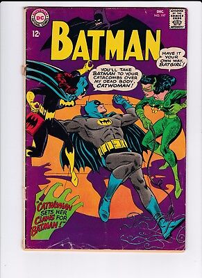 DC Batman #197 1st Appearance of Batgirl in Series 2.0 GD FREE SHIPPING
