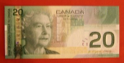 2004 $20 Bank of Canada AZN Changeover - 31.95 Ch UNC - SALE!