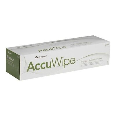 Non-Scratching + No Lint.  GPC2975603 White Delicate Task Accuwipe Wipers