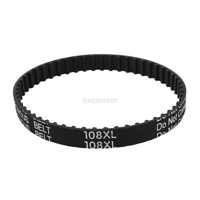 108XL 037 54Teeth Table Saw Rubber Timing Belt 9.5mm Width 5.08mm Pitch 274.35mm