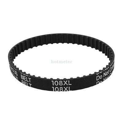 H● 108XL 037 54Teeth Table Saw Rubber Timing Belt 9.5mm Width 5.08mm