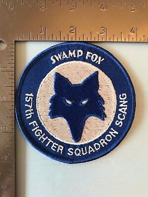 USAF 157th FIGHTER SQUADRON PATCH (AFJ-1) SCANG