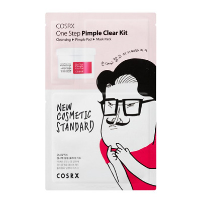 [COSRX] One Step Original Clear Kit - 1pack(3ea : Cleanser + Clear Pad + Mask)