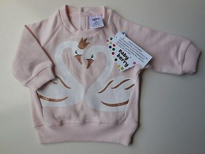 Baby Girl Infant Warm Fleecy Jumper Windcheater Top Clothes Size 00 Fits 3-6M