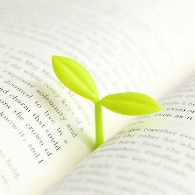 2Pcs Kawaii Korean Sprout Bookmark Book Mark Paper Reading Office New