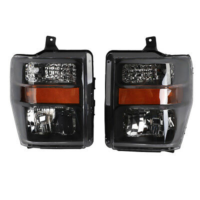 Headlights Headlamps Factory Style fits 2008-2010 Ford SuperDuty F250/F350/F450